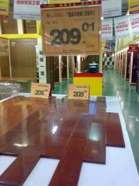 メルバウは床材として人気のある素材であるが、合法性と供給の持続可能性に懸念がある。© Greenpeace China